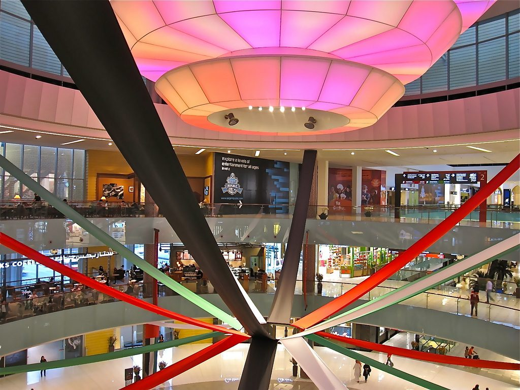 Inside mall of Dubai